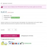 Informazioni con link a un CMS nella scheda prodotto