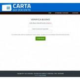 POS PER CARTA DEL DOCENTE + GUIDA E SCRIPT PHP PER ATTIVAZIONE