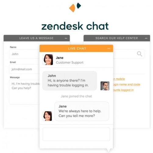Art Zendesk Chat formely Zopim Module