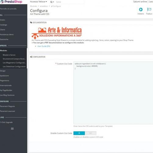 [FREE] Art Theme add CSS (Cascading Style Sheets)