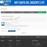 Art Light POS Carta del Docente + Art Light POS 18app