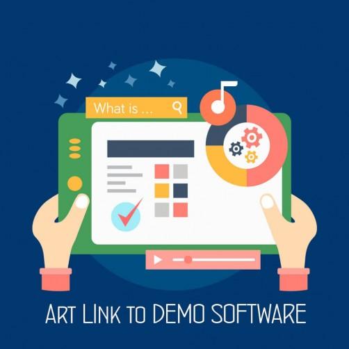 Art Link alla versione Demo del prodotto virtuale e