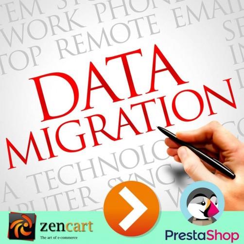 Migrazione da Zencart a PrestaShop