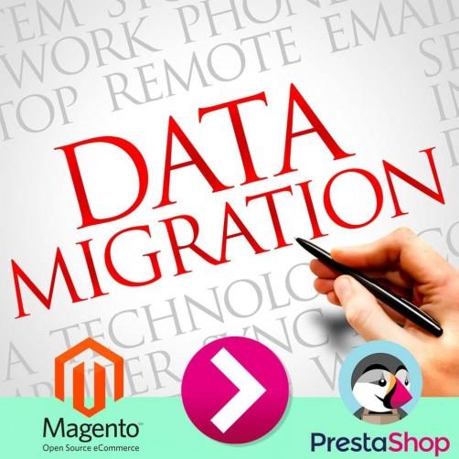 Migrazione completa da Magento a PrestaShop