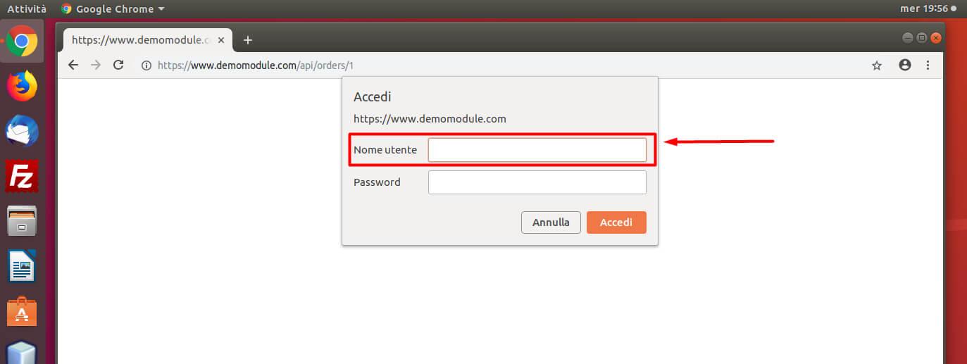 Accedere alle API di PrestaShop