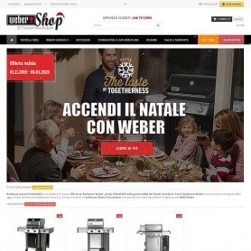 Creation of Barbecue Web Shop e-commerce