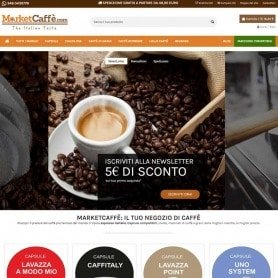 Creation of Market Caffé e-commerce